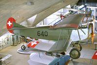 640 @ LSMD - Swiss Air Force Fokker D.VII - by Dietmar Schreiber - VAP