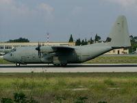 MM62185 @ LMML - C130 Hercules MM62185/46-50 Italian Air Force - by raymond