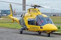 G-HEMZ @ EGNX - 2009 Agusta A-109S Grand, c/n: 22156 based Air Ambulance at East Midlands