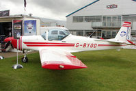 G-BYOD @ EGBK - 2001 Slingsby Aviation Ltd SLINGSBY T67M200, c/n: 2265 displayed at 2011 AeroExpo at Sywell
