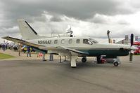 N868AT @ EGBK - 2002 Eads Socata TBM 700, c/n: 232 exhibited at 2011 AeroExpo at Sywell