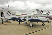D-GTPI @ EGBK - Piper PA-34-220T, c/n: 3449410 exhibited at 2011 AeroExpo at Sywell