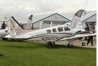N303EU @ EGBK - Hawker Beechcraft Corp G58, c/n: TH-2303 exhibited at 2011 AeroExpo at Sywell