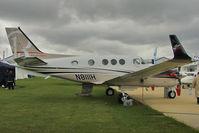 N8111H @ EGBK - Hawker Beechcraft Corp C90GTI, c/n: LJ-2011 exhibited at AeroExpo 2011 at Sywell