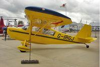 G-IRGJ @ EGBK - 2008 American Champion 7ECA Explorer, c/n: 1401-2008 exhibited at AeroExpo 2011 at Sywell