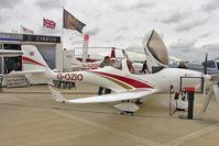 G-OZIO @ EGBK - 2009 Aquila AT01, c/n: AT01-199 exhibited at 2011 AeroExpo at Sywell
