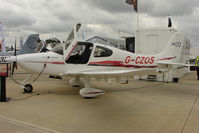 G-CZOS @ EGBK - 2010 Cirrus SR20, c/n: 2038 at 2011 AeroExpo at Sywell