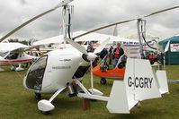 G-CGRY @ EGBK - 2010 MAGNI GYRO LTD M24C exhibited at 2011 AerExpo at Sywell