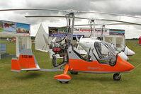 G-CGNM @ EGBK - 2010 Magni Gyro M16C, c/n: 16-10-5824 exhibited at 2011 AeroExpo at Sywell