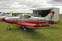 G-OHJE @ EGBK - 2010 PIONEER 300 HAWK exhibited at 2011 AeroExpo at Sywell