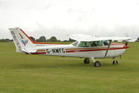 G-NWFG @ EGBK - Visitor on Day 1 on 2011 AeroExpo at Sywell