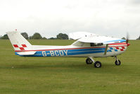 G-BCDY @ EGBK - Visitor on Day 1 on 2011 AeroExpo at Sywell