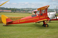 G-ANDP @ EGAD - Parked for the fly-in - by Robert Kearney