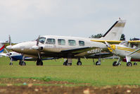 N250AC @ EGBK - Piper PA-31, c/n: 31-7612040 at Sywell