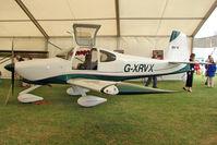 G-XRVX @ EGBK - 2006 Lamping Nk VANS RV-10, c/n: PFA 339-14592 exhibited at 2011 AeroExpo at Sywell