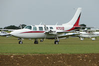 N70VB @ EGBK - 1977 Smith AEROSTAR 600, c/n: 60-0446-150 at Sywell
