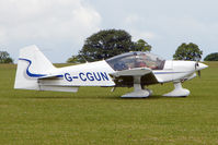 G-CGUN @ EGBK - 2007 ALPHA AVIATION MANUFACTURING LTD R2160 at Sywell