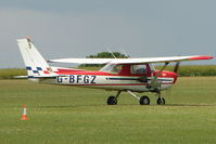 G-BFGZ @ EGBK - 1977 Reims Aviation Sa REIMS CESSNA FRA150M, c/n: 0329 at Sywell