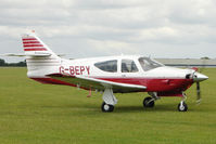 G-BEPY @ EGBK - 1977 Rockwell International Corporation ROCKWELL COMMANDER 112B, c/n: 524 at Sywell