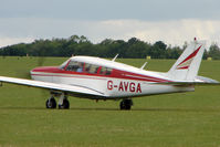 G-AVGA @ EGBK - 1966 Piper PIPER PA-24-260, c/n: 24-4489 at Sywell - by Terry Fletcher