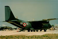 MM62130 @ LMML - G222 MM62130/RS-51 Italian Air Force - by raymond
