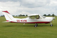 SE-KVM @ EGBK - Cessna F177RG, c/n: 0115 at Sywell for 2011 AeroExpo