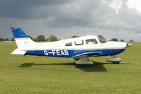 G-FEAB @ EGBK - 2003 New Piper Aircraft Inc PIPER PA-28-181, c/n: 2843567 at Sywell