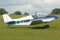 G-FARR @ EGBK - 1966 Societe Aeronautique Normande JODEL D150, c/n: 58 at Sywell