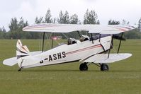 G-ASHS @ EGBK - 1946 Sn De Constructions Aeronautiques Du Nord STAMPE SV4C(G), c/n: 265 at Sywell