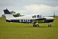 G-ATEZ @ EGBK - 1965 Piper PIPER PA-28-140, c/n: 28-21044 at Sywell