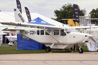 VH-CQK @ EGBK - 2010 Gippsland GA-8 Airvan, c/n: TC320-10-169 on display at 2011 AeroExpo at Sywell