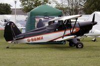 G-BBMH @ EGBK - 1982 Dawson K EAA BIPLANE, c/n: PFA 1348 exhibited at 2011 AeroExpo at Sywell