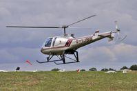 G-IJBB @ EGBK - 1995 Enstrom Helicopter Corporation ENSTROM 480, c/n: 5010 at Sywell