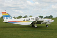 G-BPXX @ EGBK - 1979 Piper PIPER PA-34-200T, c/n: 34-7970069 at Sywell