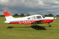 G-CEGS @ EGBK - 1977 Piper PIPER PA-28-161, c/n: 28-7816418 at Sywell
