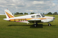 G-ASUD @ EGBK - 1964 Piper PA-28-180, c/n: 28-1654 at Sywell