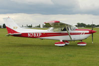 N78XP @ EGBK - 1977 Reims Aviation S.a. CESSNA FR172K, c/n: 0603 at Sywell - by Terry Fletcher