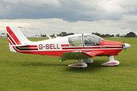 G-SELL @ EGBK - 1976 Avions Pierre Robin CEA DR400/180, c/n: 1153 at Sywell