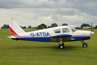 G-ATDA @ EGBK - 1961 Piper PIPER PA-28-160, c/n: 28-206 at Sywell - by Terry Fletcher