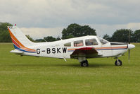 G-BSKW @ EGBK - 1989 Piper PIPER PA-28-181, c/n: 2890138 at Sywell