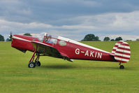 G-AKIN @ EGBK - 1947 Miles M38 Messenger 2A, c/n: 6728 based at Sywell