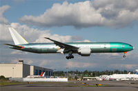 D2-TEH @ KPAE - KPAE/PAE Boeing 177 returns from a test flight