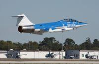 N104RB @ TIX - Starfighters Inc F-104