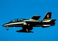 MM54475 @ LMML - MB339 MM54475/3 Feecce Tricolori Italian Air Force - by raymond