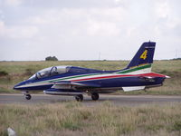 MM54534 @ LMML - MB339 MM54534/4 Frecce Tricolori - by raymond