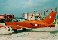 MM54429 @ LMML - SF260 MM54429/70-14 Italian Air Force - by raymond