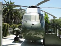 150617 @ NX1 - Preserved at Nixon Library in Yorba Linda, showing the hull which allowed water landings - by Helicopterfriend