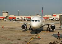 N330NW @ KATL - Arriving at gates in Atlanta.  KATL. - by Doug Wolfe