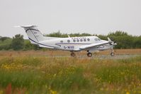 G-WVIP @ EGFH - Capital Air Charter's Beech Super King Air back-tracking on Runway 04/22 - by Roger Winser