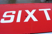 G-SIXT @ EGBK - Reg number on the top of the starboard wing of this retro PA-28 - by Chris Hall